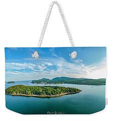 Bar Island, Bar Harbor  Weekender Tote Bag