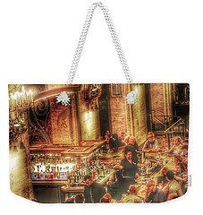 Bar Scene Weekender Tote Bag