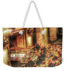 Bar Scene Weekender Tote Bag
