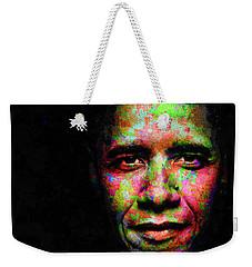 Barack Obama Weekender Tote Bag by Svelby Art