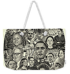 Barack Obama- Time For Change Weekender Tote Bag