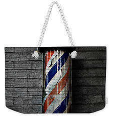 Barber Pole Blues  Weekender Tote Bag by Jerry Cordeiro