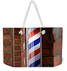 Barber Pole Weekender Tote Bag