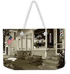 Clarks Barber Shop With Color Weekender Tote Bag