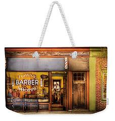 Barber - Towne Barber Shop Weekender Tote Bag