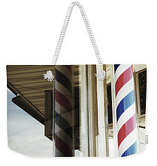 Barbershop Pole Weekender Tote Bag