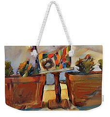 Barb's Bird House Weekender Tote Bag