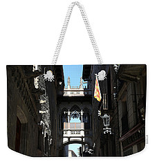 Weekender Tote Bag featuring the photograph Barcelona 1 by Andrew Fare