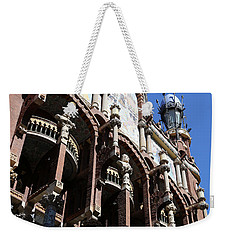 Weekender Tote Bag featuring the photograph Barcelona 4 by Andrew Fare