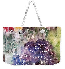 Barcelona Flower Mart Weekender Tote Bag