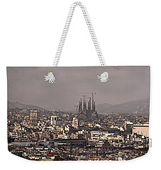 Barcelona Weekender Tote Bag by Steven Sparks