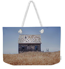 Weekender Tote Bag featuring the photograph Bare All In Color by Kandy Hurley