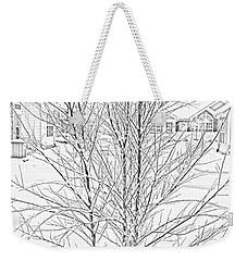 Bare Naked Tree Weekender Tote Bag