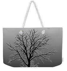 Bare Tree In Fog- Pe Filter Weekender Tote Bag