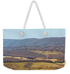 Weekender Tote Bag featuring the photograph Bare Winter by Denise Romano