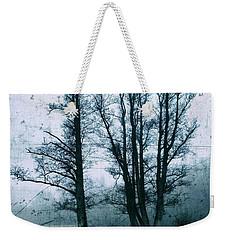 Bare Winter Trees Weekender Tote Bag by Karen Stahlros