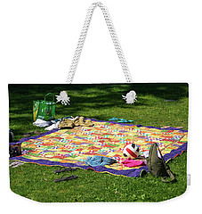Barefoot In The Grass Weekender Tote Bag