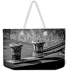 Barge Bollard Weekender Tote Bag by Ray Congrove