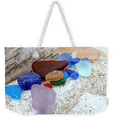 Bark Stone And Glass Weekender Tote Bag