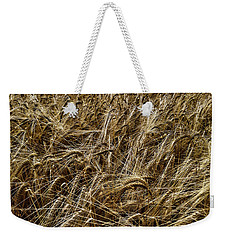 Weekender Tote Bag featuring the photograph Barley by RKAB Works