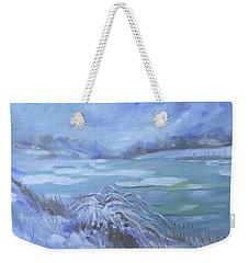 Barlow Pond Snowscapr Weekender Tote Bag