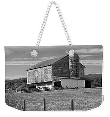 Weekender Tote Bag featuring the photograph Barn 1 by Mike McGlothlen