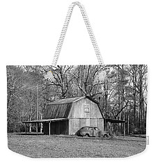 Weekender Tote Bag featuring the photograph Barn 2 by Mike McGlothlen