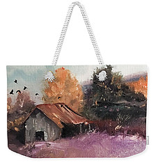 Barn And Birds  Weekender Tote Bag