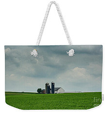 Barn And Silos Weekender Tote Bag