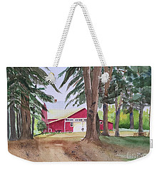 Barn At Howland Preserve Weekender Tote Bag