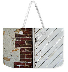Barn Door Abstract Weekender Tote Bag
