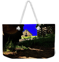 Barn From Under The Equipment Weekender Tote Bag