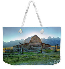 Barn Glow  Weekender Tote Bag