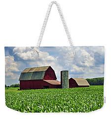 Barn In The Corn Weekender Tote Bag
