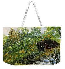 Barn In The Woods Weekender Tote Bag
