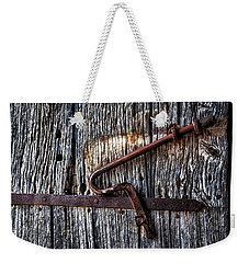 Barn Lock Weekender Tote Bag