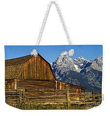 Barn On Mormon Row Weekender Tote Bag