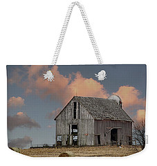 Barn On The Hill Weekender Tote Bag