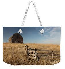 Barn On The Prairie Weekender Tote Bag