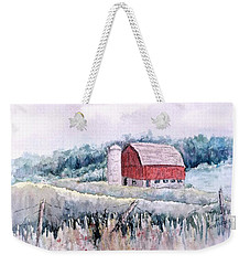 Barn On Weinman Road Weekender Tote Bag