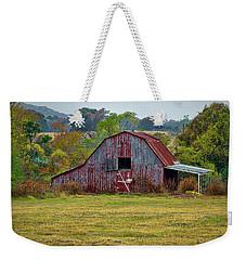 Barn On White Oak Road Weekender Tote Bag