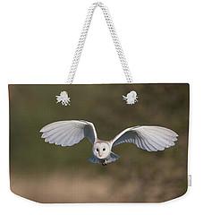 Barn Owl Approaching Weekender Tote Bag