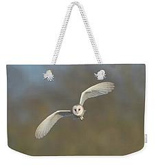 Barn Owl Hunting In Worcestershire Weekender Tote Bag