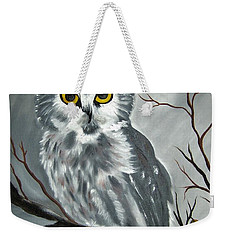 Barn Owl Ready For The Hunt Weekender Tote Bag