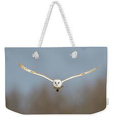 Barn Owl Sculthorpe Moor Weekender Tote Bag