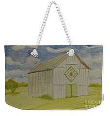 Barn Quilt Weekender Tote Bag