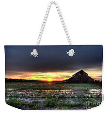 Barn Sunrise Weekender Tote Bag by Jim And Emily Bush
