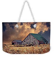 Barn Surrounded With Beauty Weekender Tote Bag