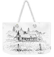 Barn With Skylight Weekender Tote Bag