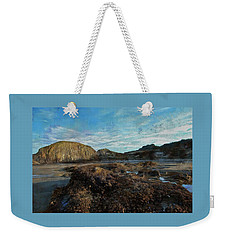 Weekender Tote Bag featuring the photograph Barnacles On The Beach by Thom Zehrfeld